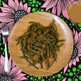 Sauté de haricots verts
